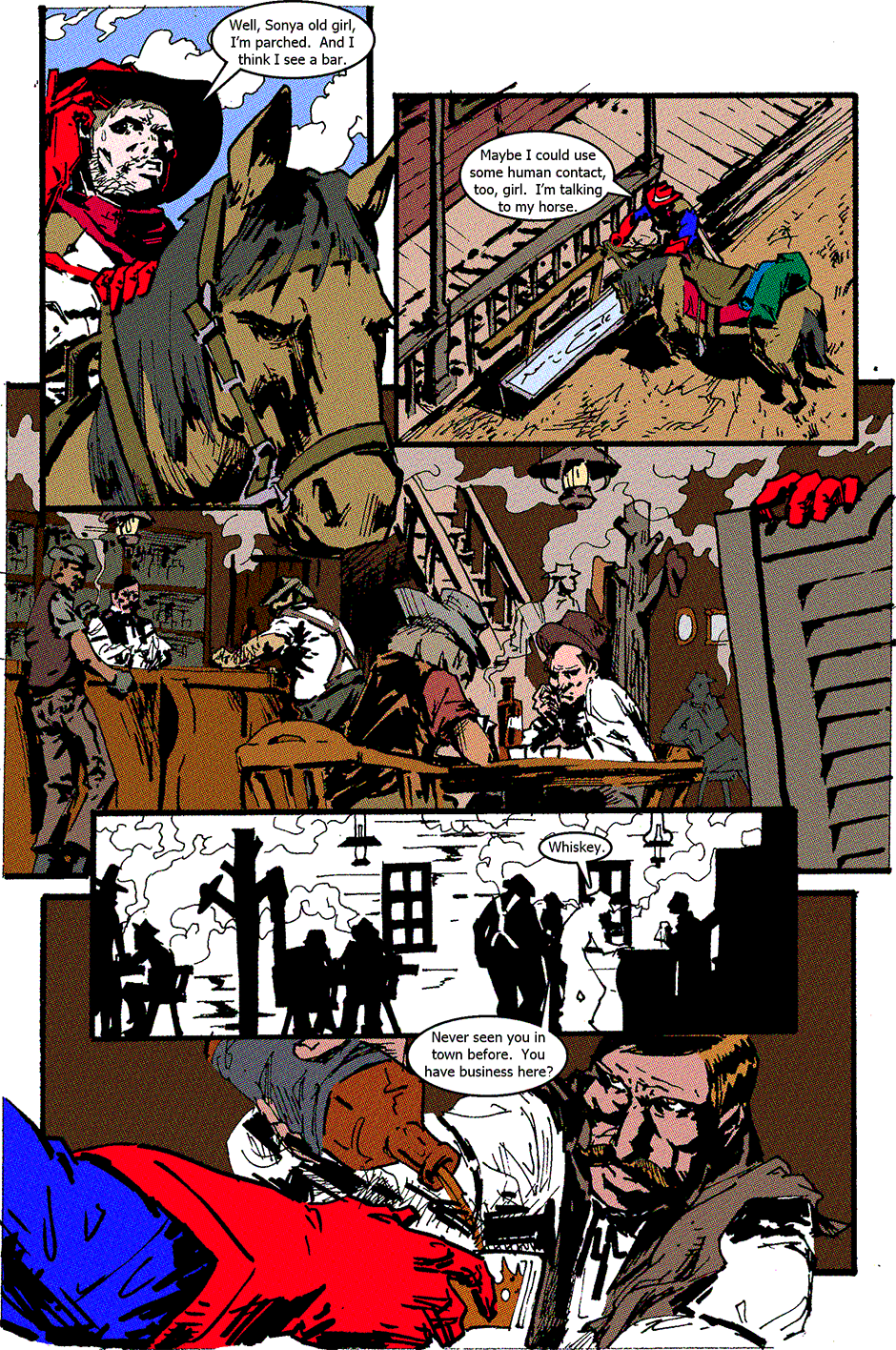 Issue 2: American Cowboy - Page 4