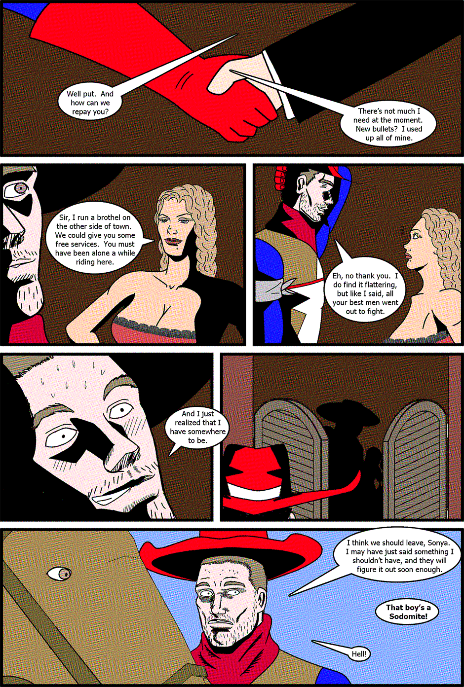 Issue 2: American Cowboy - Page 13