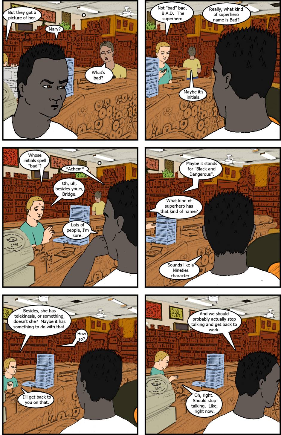 Issue 7: The Second Time - Page 6