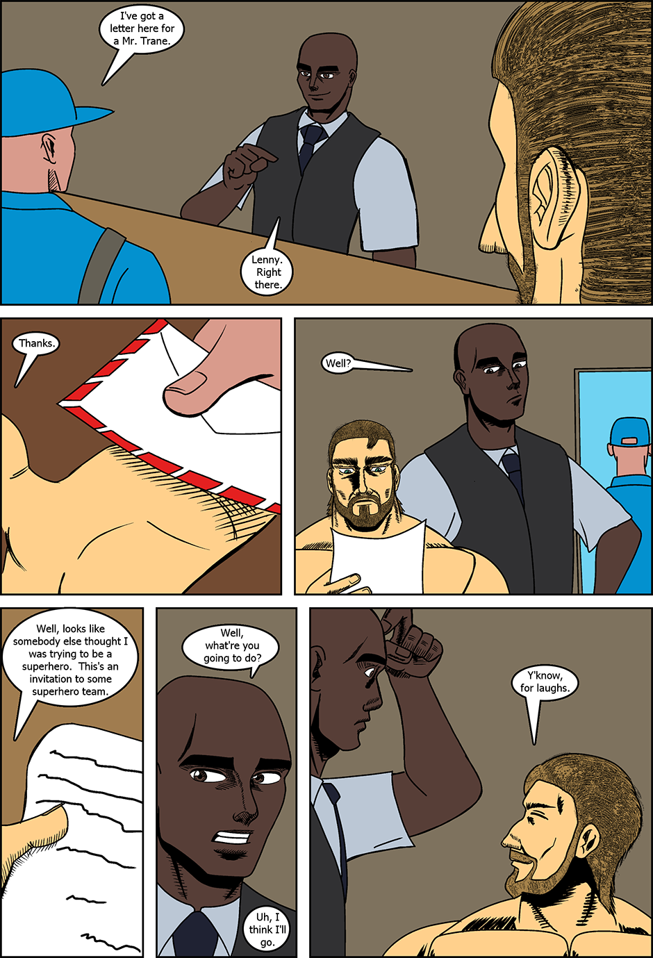 Issue 12: Bear Man - Page 6