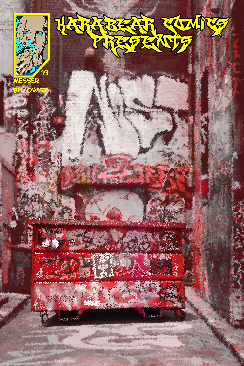 Issue 19: Red Alley Gang - Cover